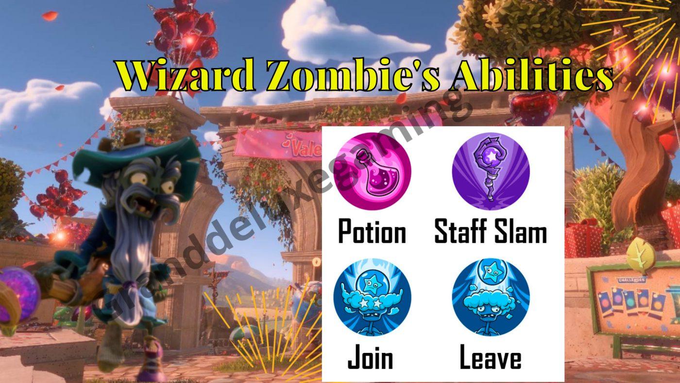 Wizard Zombie PVZ BFN